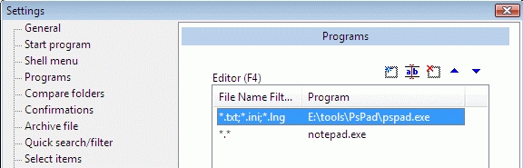 Для открытия программы pspad для